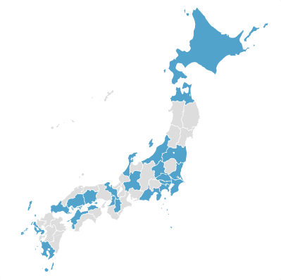 Prefectory 日本地図