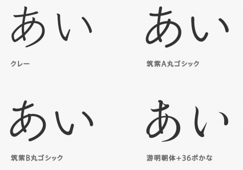 El Capitanの新しい日本語フォント