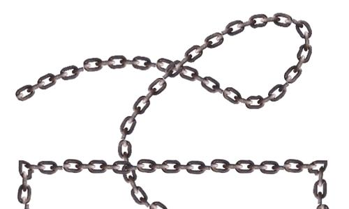 アートブラシ: 鎖