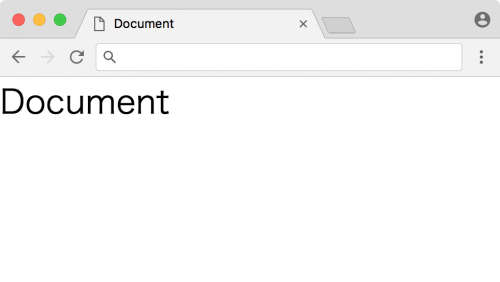 Chromeでの表示
