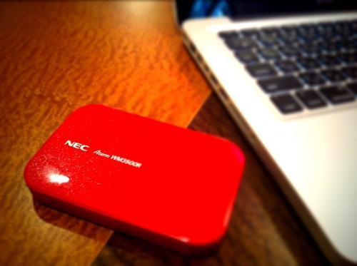 Mac と WiMAX