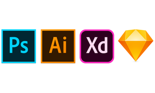 photoshop-illustrator-xd-sketch icon