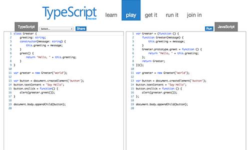 TypeScript - Playground