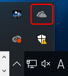 OneDriveアイコン